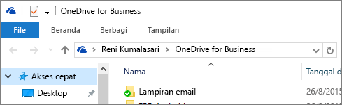 Klien desktop lama OneDrive for Business