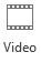 Tombol Video pada tab perekaman di PowerPoint 2016
