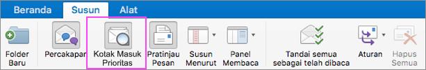 Kotak Masuk Prioritas membantu merapikan email Anda.