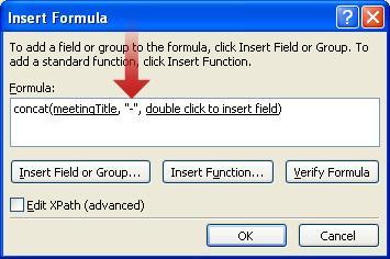 Menyisipkan karakter tanda hubung sebagai bagian dari nama formulir