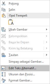PowerPoint Win32 mengedit menu teks Alt untuk gambar