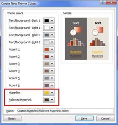 Ubah warna teks hyperlink