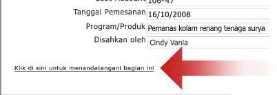 Link tanda tangan digital