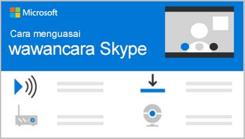 Gambar konseptual dari bagian atas infografik wawancara Skype