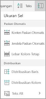 Opsi paskan otomatis Windows Mobile