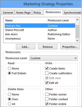 Mengatur izin pada folder publik