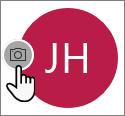 Pilih ikon kamera untuk menambahkan foto