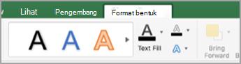 Tab Format Bentuk
