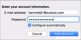 Menambahkan akun email