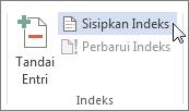 Menyisipkan indeks