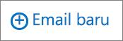 Cuplikan layar memperlihatkan kontrol email baru yang digunakan untuk membuat pesan email.