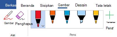 Alat tinta di Office 365
