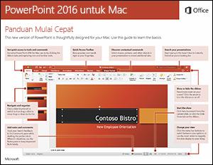 Panduan Mulai Cepat PowerPoint 2016 untuk Mac
