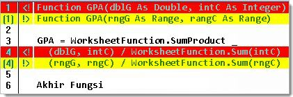Perbandingan file perbedaan memperlihatkan baris demi baris