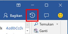 Menampilkan versi riwayat file Office