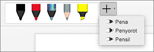 Pena di Word untuk Mac