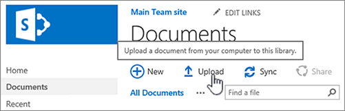 Unggah dokumen