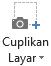 Cuplikan layar tombol pada tab perekaman di PowerPoint 2016