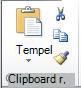 Grup Clipboard pada tab Beranda.