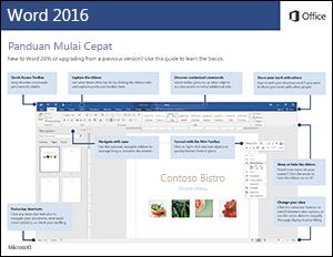 Panduan Mulai Cepat Word 2016 (Windows)