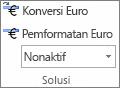 Konversi Euro dan Pemformatan Euro