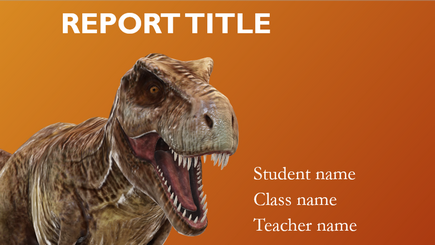 Gambar konseptual dari laporan sekolah 3D