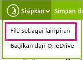 Melampirkan file