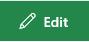 Cuplikan layar tombol Edit tautan di Sharepoint.