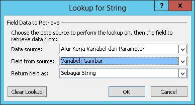 String Email dalam Alur Kerja Gambar