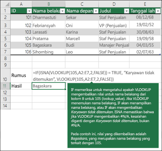 Contoh VLOOKUP 5
