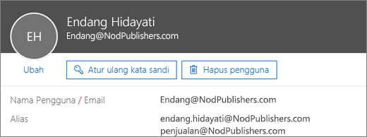 how to send email from alias office 365