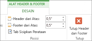 Alat Header dan Footer