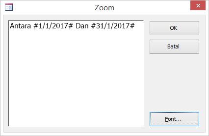 Ekspresi di kotak dialog Zoom.
