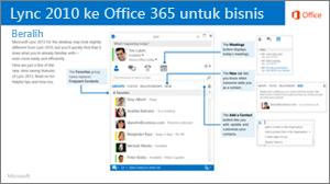 Gambar mini panduan beralih dari Lync 2010 dan Office 365