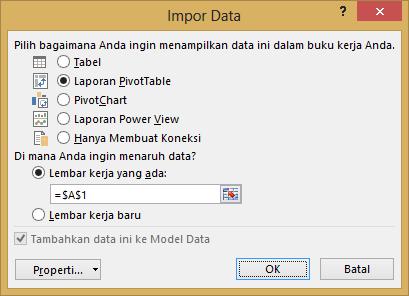 Jendela Impor Data