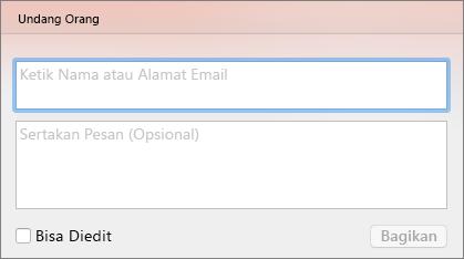 Undang Berbagi PPT untuk Mac