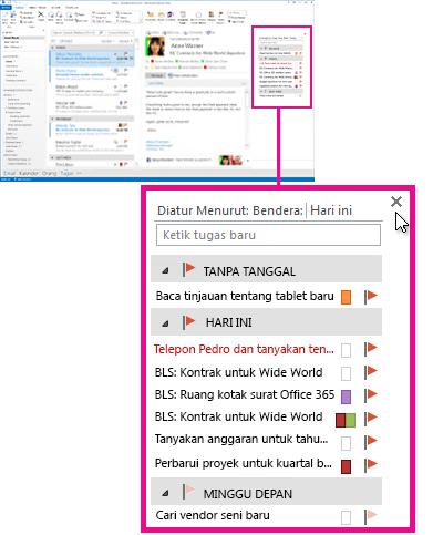 Cuplikan Tugas yang disematkan