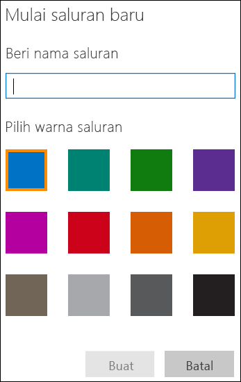 Membuat Saluran Video Office 365