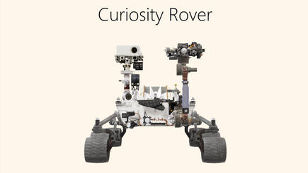 Gambar konseptual dari laporan Rover 3D