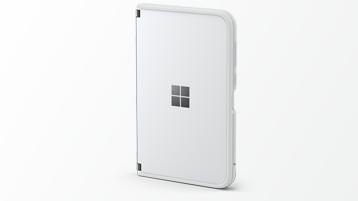 Surface Duo dengan bumper