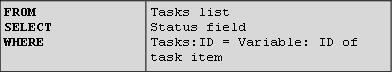 Contoh 2: Kesamaan pencarian untuk kueri SQL