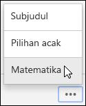 Opsi Subtitle, Shuffle, dan matematika