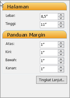 Panduan Margin