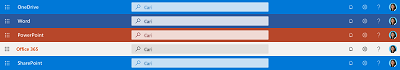 Cuplikan layar kotak centang di bagian atas beberapa aplikasi
