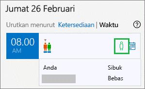 Baki status undangan