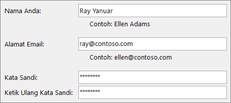 Mulai Cepat Karyawan: Membuat akun email Outlook