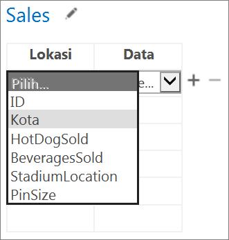 Memilih data untuk Aplikasi untuk Office agar ditampilkan di aplikasi Access