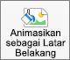 Memperlihatkan tombol animasi sebagai latar belakang di tab format gambar di PowerPoint untuk Mac