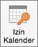 Tombol Izin Kalender Outlook 2016 untuk Mac