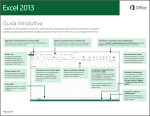 Guida introduttiva di Excel 2013